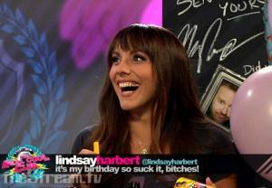 Happy Birthday Hot Wet Girl aka Lindsay Harbert Photo