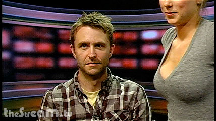 Chris Hardwick of G4′s Web Soup