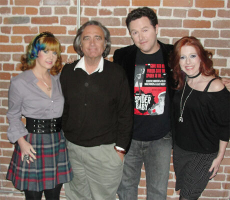 Staci Layne Wilson, Joe Dante, Elric Kane, and Rebekah McKendry