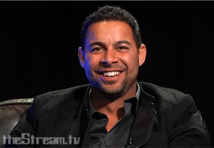 Jon Huertas, Javier Esposito on ABC's Castle Photo