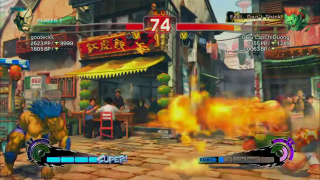 LapChi vs. Mike in Super Street Fighter IV on Gootecks and Mike Ross