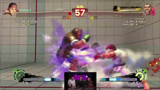 Alex Valle with the Clutch Move! From the gootecks & Mike Ross Show