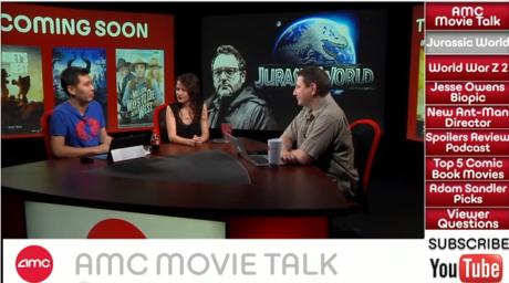 AMC Movie Talk – Major JURASSIC WORLD Details, Could James Gunn Direct ANT-MAN?