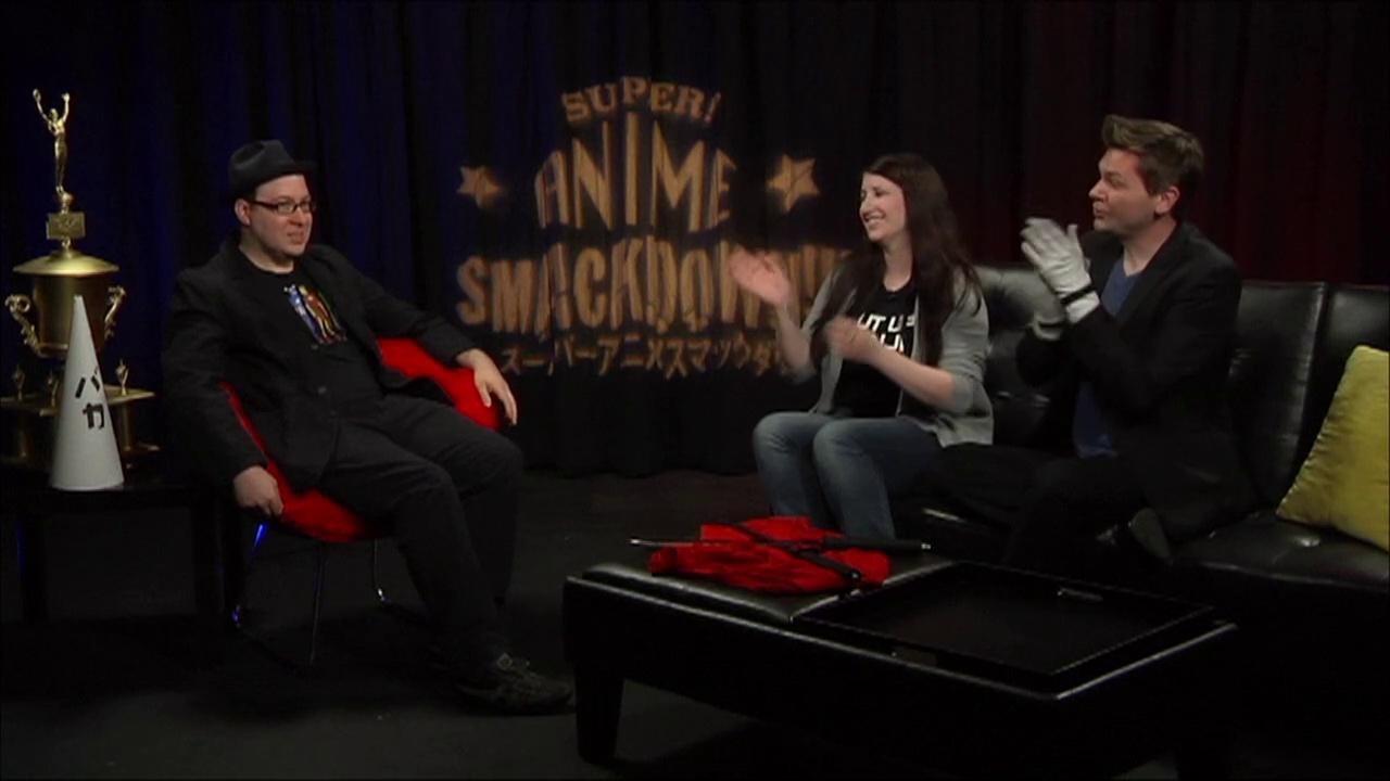 SUPER ANIME SMACKDOWN!! – EXTENDED INTERVIEW!  (JONATHAN KLEIN)