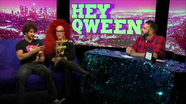 Hey Qween! BONUS Porn Star Dean Monroe Joins Jonny & ChiChi