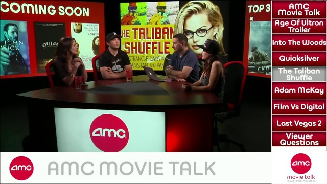 AMC Movie Talk – AVENGERS AGE OF ULTRON Trailer Review