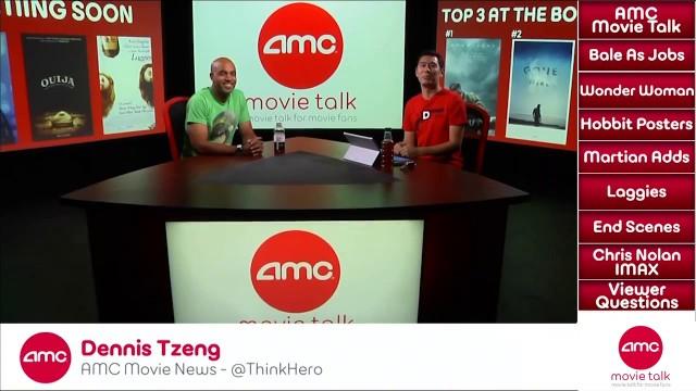 AMC Movie Talk – Christian Bale set to play Steve Jobs, WB seeking female director for Wonder Woman