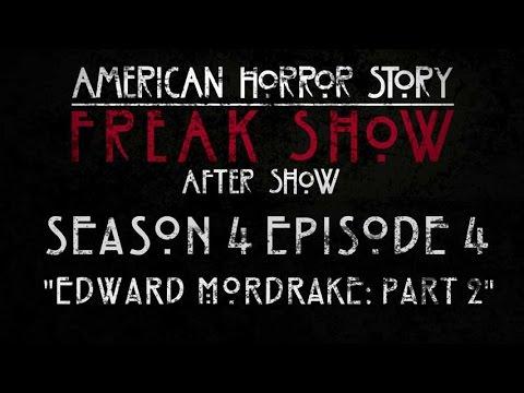"American Horror Story: Freak Show After Show Season 4 Episode 4 ""Edward Mordrake: Part 2″"