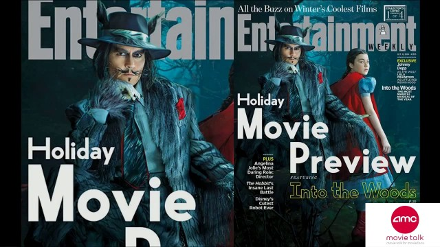 First Look At Johnny Depp's Wolf In INTO THE WOODS– AMC Movie News