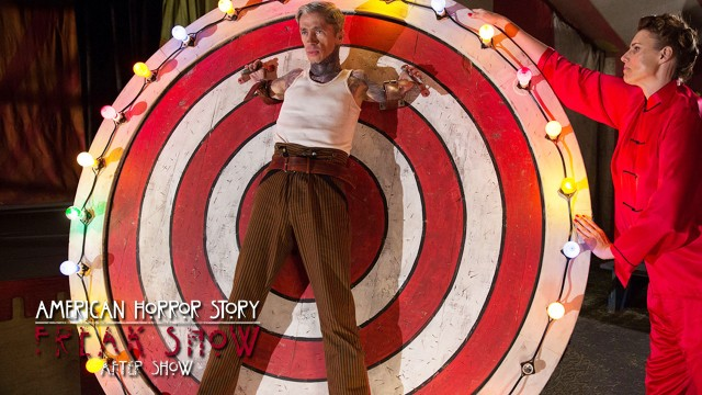 "American Horror Story Freak Show After Show Episode 6 ""Bullseye"""