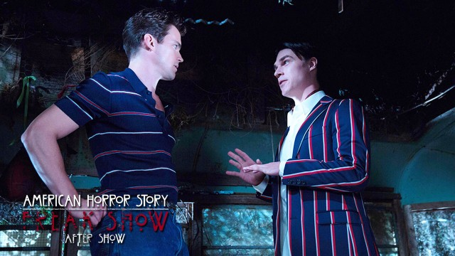 "American Horror Story Freak Show After Show Episode 7 ""Test of Strength"""