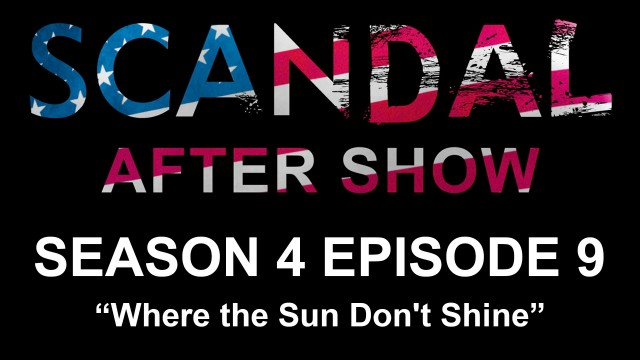 "Scandal After Show Season 4 Episode 9 ""Where the Sun Don't Shine"""
