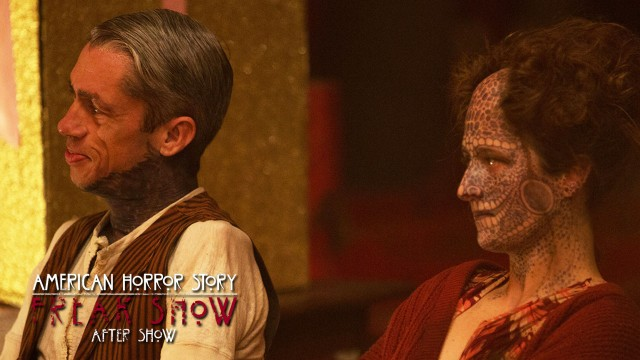 "American Horror Story Freak Show After Show Episode 12 ""Show Stoppers"""