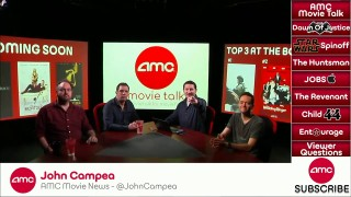 AMC Movie Talk – BATMAN SUPERMAN Fight To Go To New Level, HUNTSMAN Gets Director