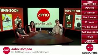 AMC Movie Talk – Oscar Nominees Announced