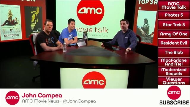 AMC Movie Talk – PIRATES 5 Plots Details, Simon Pegg To Write STAR TREK 3