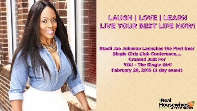 Stacii Jae- Live Your Best Life Now! on Real Housewives of Atlanta After Show