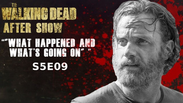 """The Walking Dead After Show """"What Happened and What's Going On"""""""