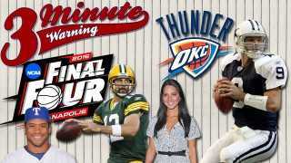 Final Four, Romo vs Rodgers, Russell Wilson and Thunder Comeback on  3 Minute Warning