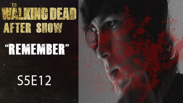 "The Walking Dead After Show Season 5 Episode 12 ""Remember"""