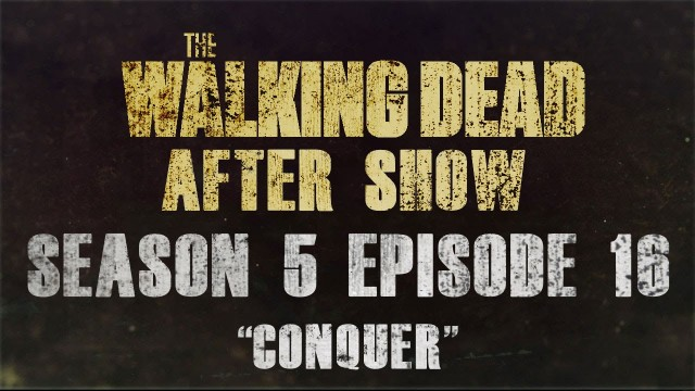 "The Walking Dead Season 5 Finale Episode 16 Review and After Show ""Conquer"""