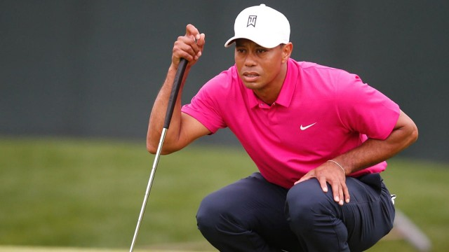 Tiger at the Masters on 3 Minute Warning