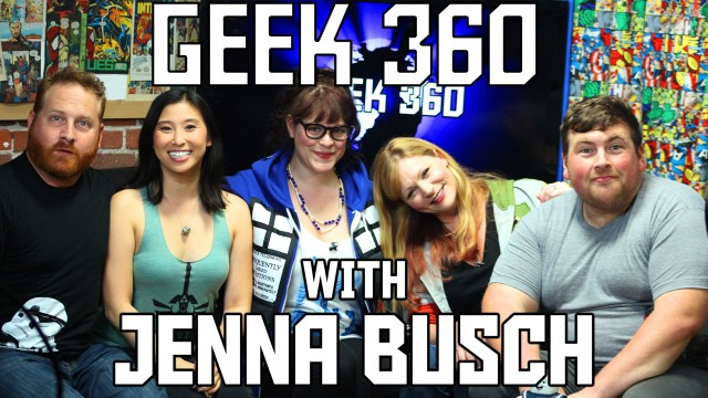 Jenna Busch talks Batman, Star Wars and More on Geek 360 S2 Ep5