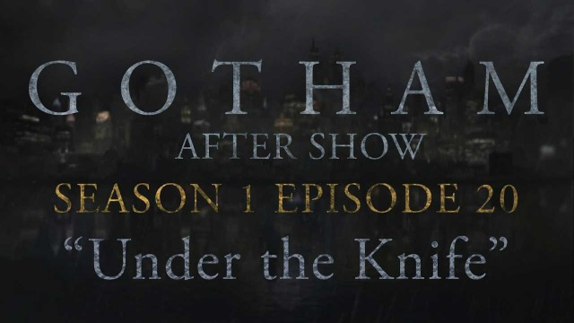 "Gotham Season 1 Episode 20 Review and After Show ""Under the Knife"""