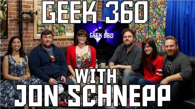 Jon Schnepp talks Superman, Batman and more on Geek 360 S2 EP6