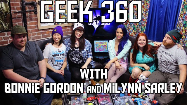 Milynn Sarley and Bonnie Gordon on Geek 360 S2 Ep7