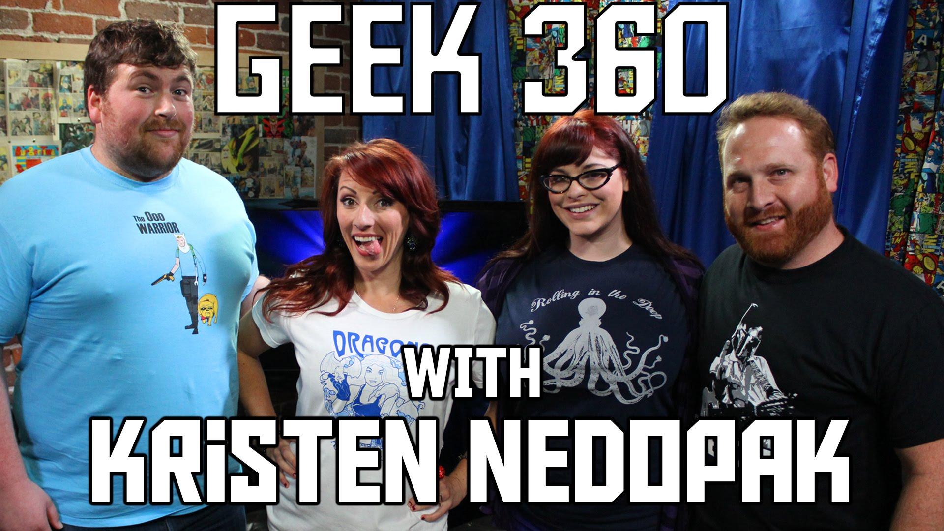 Kristen Nedopak talks the Geekie Awards on Geek 360