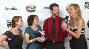 Etheria Film Night Live!: Women of Horror Jane Espenson, Tricia Helfer, & Amber Benson Photo