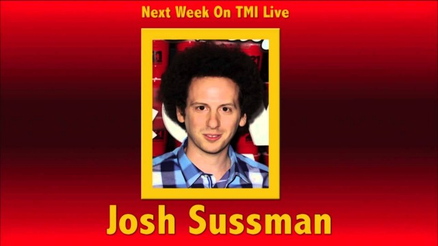 Glee star Josh Sussman this week on TMI Live!