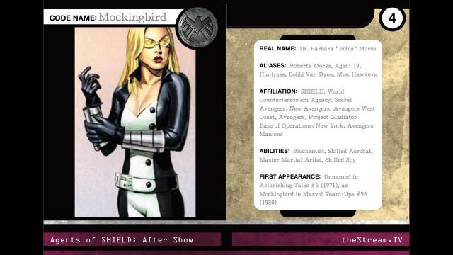 """Agents Of S.H.I.E.L.D. Character Spotlight: """"Mockingbird"""""""