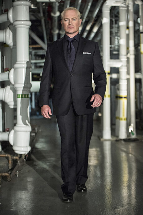 Arrow -- Image AR406A_Special_0373b.jpg -- Pictured: Neal McDonough as Damien Darhk -- Photo: Cate Cameron/ The CW -- © 2015 The CW Network, LLC. All Rights Reserved.