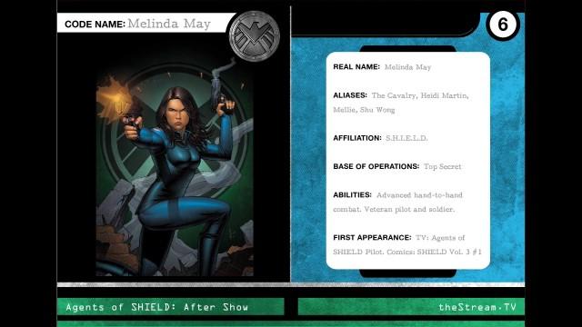 """Agents Of S.H.I.E.L.D. Character Spotlight """"Melinda May"""""""