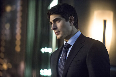 "Arrow -- ""The Secret Origin of Felicity Smoak"" -- Image AR305a_0114b -- Pictured: Brandon Routh as Ray Palmer -- Photo: Cate Cameron/The CW -- ©2014 The CW Network, LLC. All Rights Reserved."