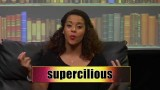 "The Big Bang Theory After Show ""Nerd Word"" Supercilious"