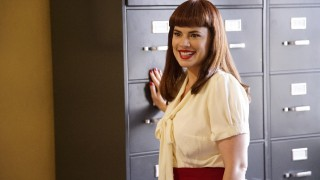 "MARVEL'S AGENT CARTER - ""The Atomic Job"" - As Jarvis' precision and quick-thinking skills are put to the ultimate test, Peggy must find a way to stop an atomic explosion that threatens to destroy all of California, on ""Marvel's Agent Carter,"" TUESDAY, FEBRUARY 9 (9:00-10:00 p.m. EST) on the ABC Television Network. (ABC/Kelsey McNeal) HAYLEY ATWELL"