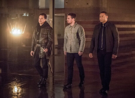 Arrow_Sins_Of_The_Father_Malcolm_Merlyn_Oliver_Queen_John_Diggle