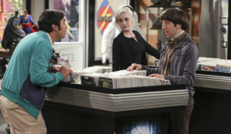 The_Big_Bang_Theory_The_Meemaw_Materialization_Raj_Claire_Howard_Comic_Book_Store