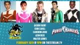 MIGHTY MORPHIN POWER RANGERS on Stan Lee's Comikaze All Year Long