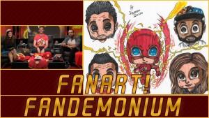 The Flash After Show Fandemonium – Fanart! Photo