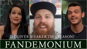 Arrow After Show Season 4 FANDEMONIUM! -Is Oliver Weaker This Season? Photo