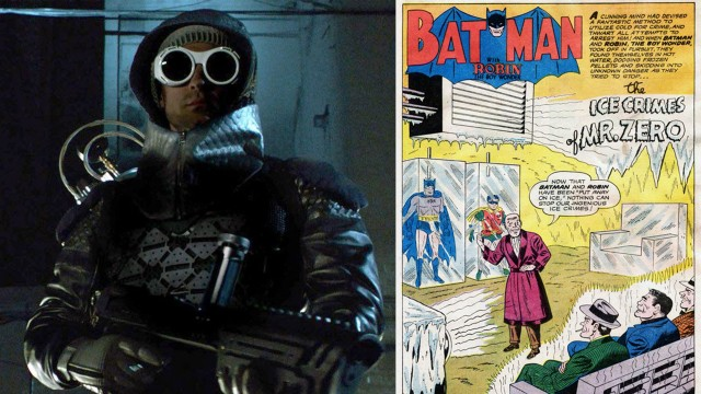 Gotham After Show Comic Comparison: Mr.Freeze