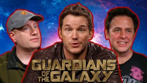 GUARDIANS OF THE GALAXY Interview with Chris Pratt, James Gunn and Kevin Feige Photo