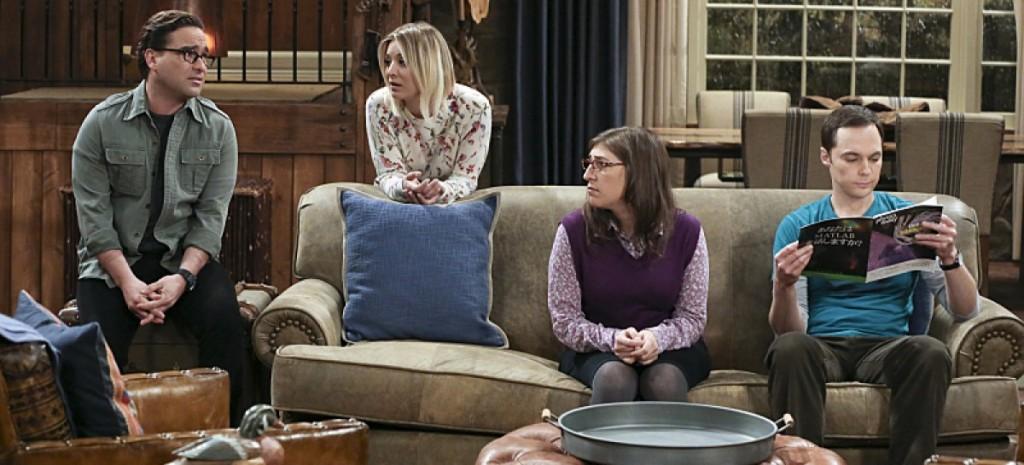 The_Big_Bang_Theory_The_Big_Bear_Precipitation_Leonard_Penny_Amy_Sheldon_Cabin