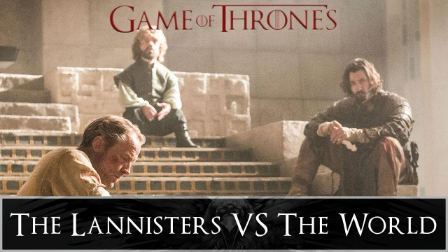 Game of Thrones: The Small Council – The Lannisters vs the World