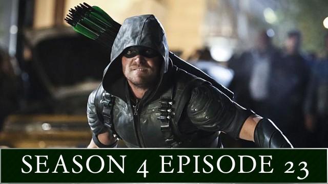 "Arrow After Show Season 4 Episode 23 ""Schism"""