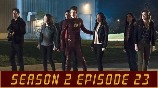 """The Flash After Show Season 2 Episode 23 """"The Race of His Life"""""""